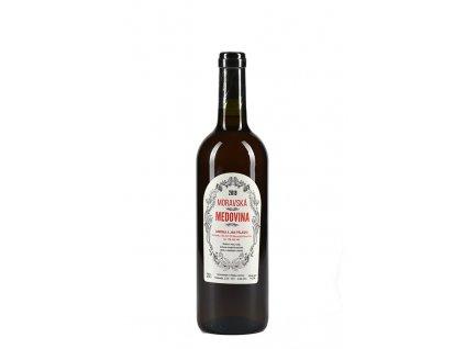 Moravská medovina - ořechová - 0,75 l  sklo