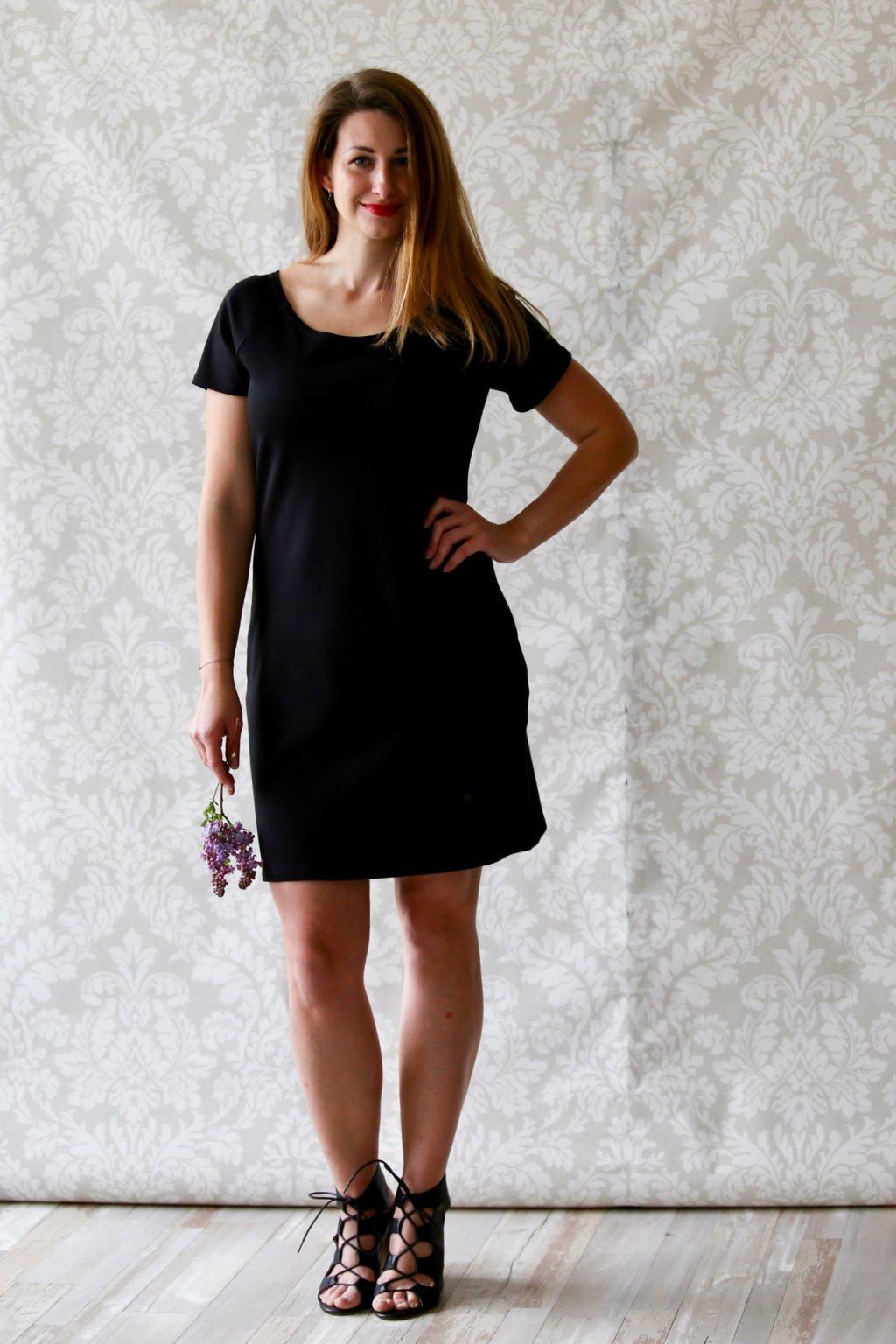 Ženské šaty Magdaléna / Černá