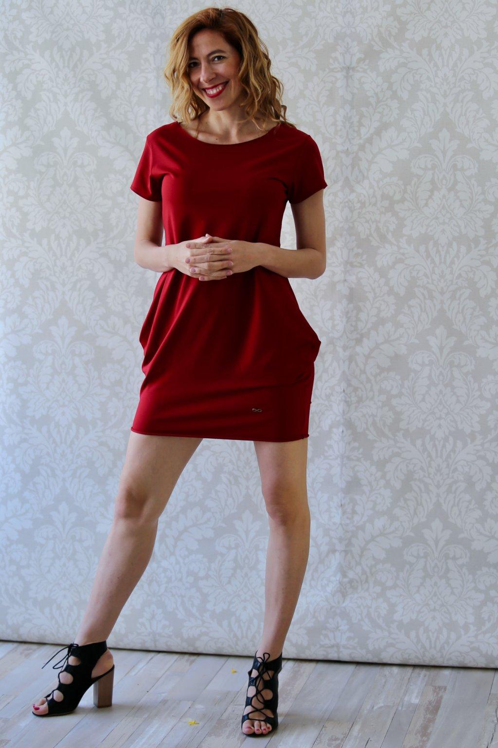 Božské šaty Afrodité s krátkým rukávem / Chilli