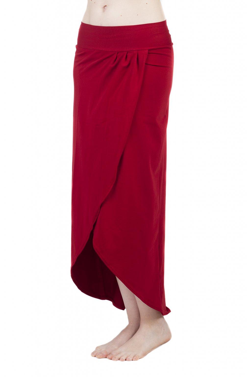 Zavinovací dlouhá sukně Vesna / Chilli