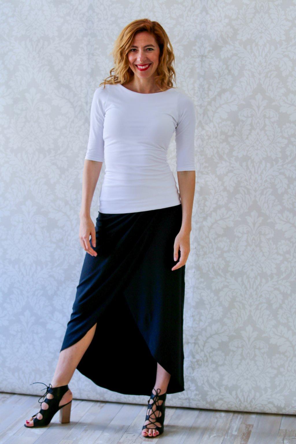 Lodičkové triko Sibyla / Bílá