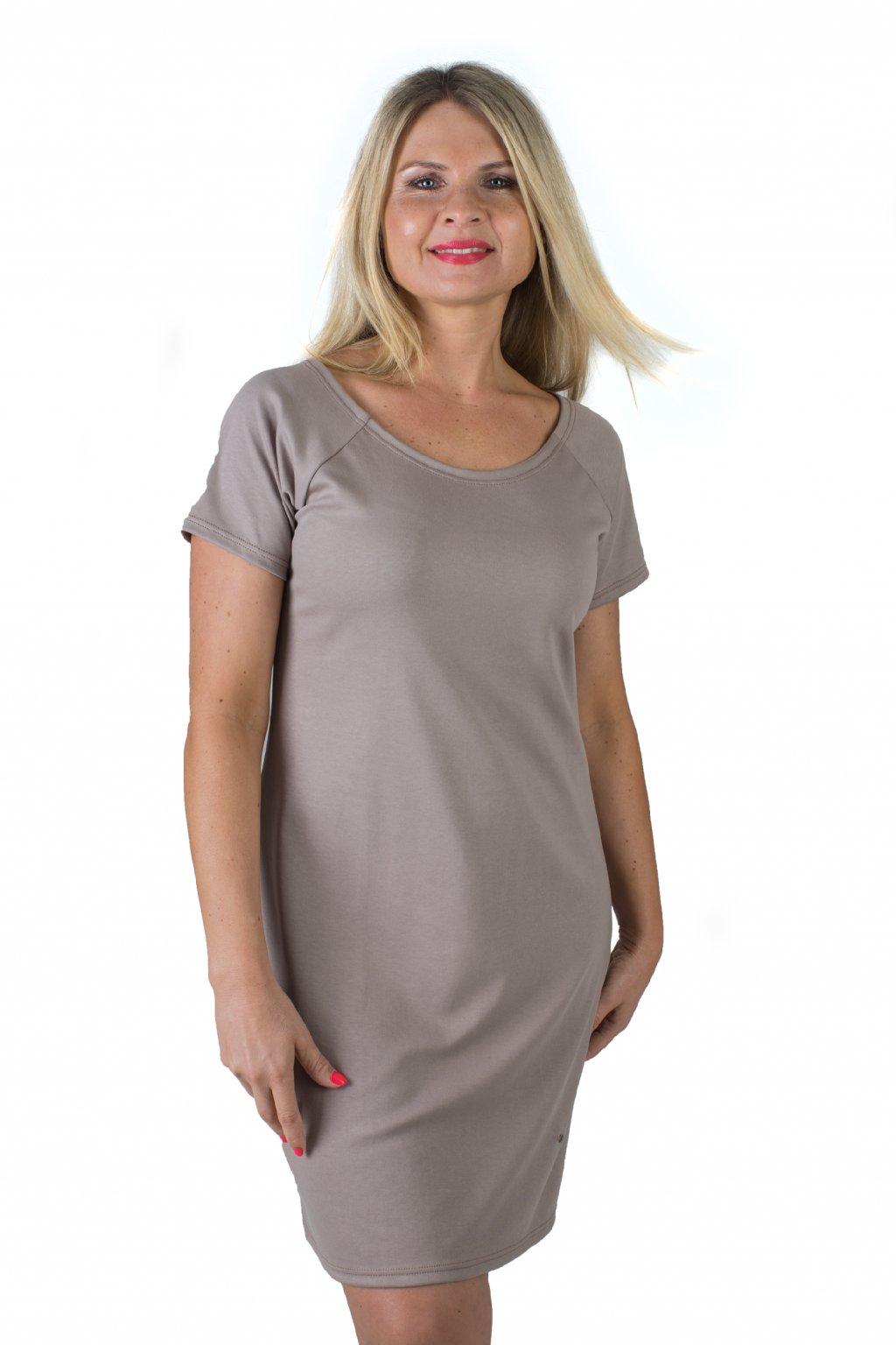 Ženské šaty Magdaléna / Béžová