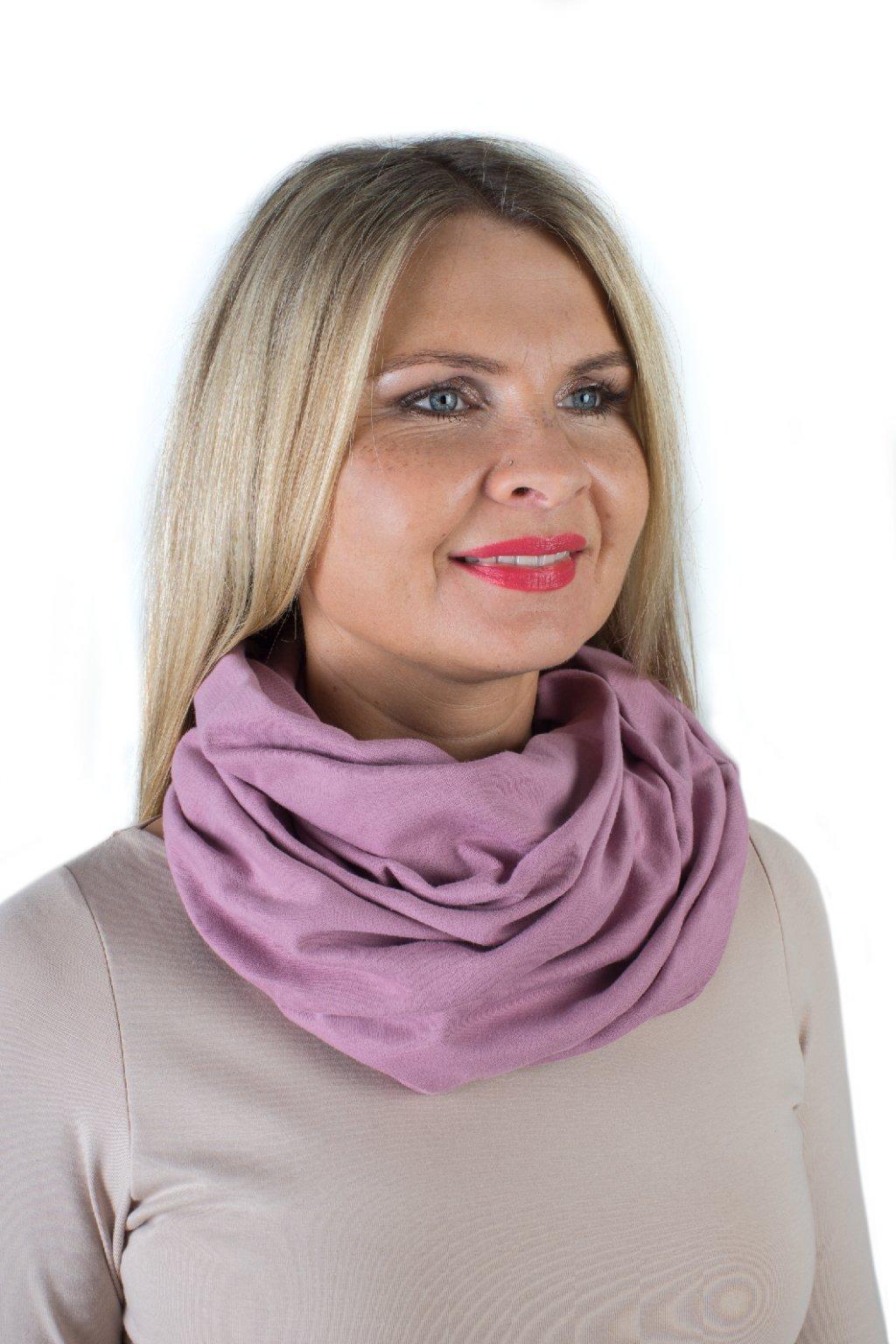 Elegantní nákrčník Minerva / Fialková
