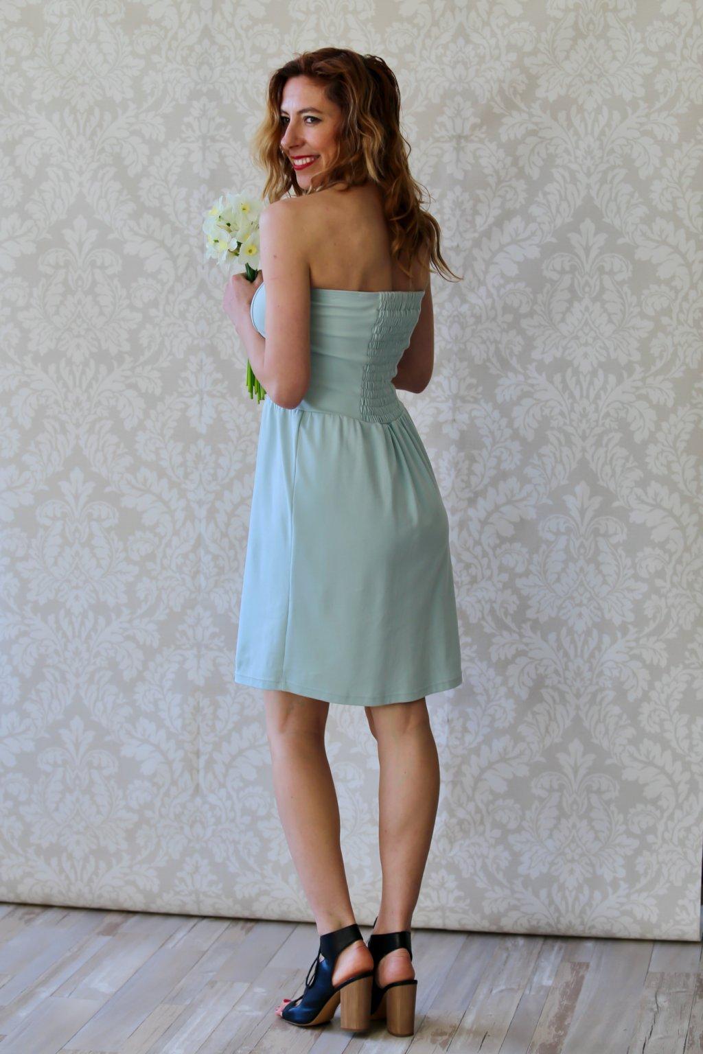 Korzetové šaty Ištar / Mintová