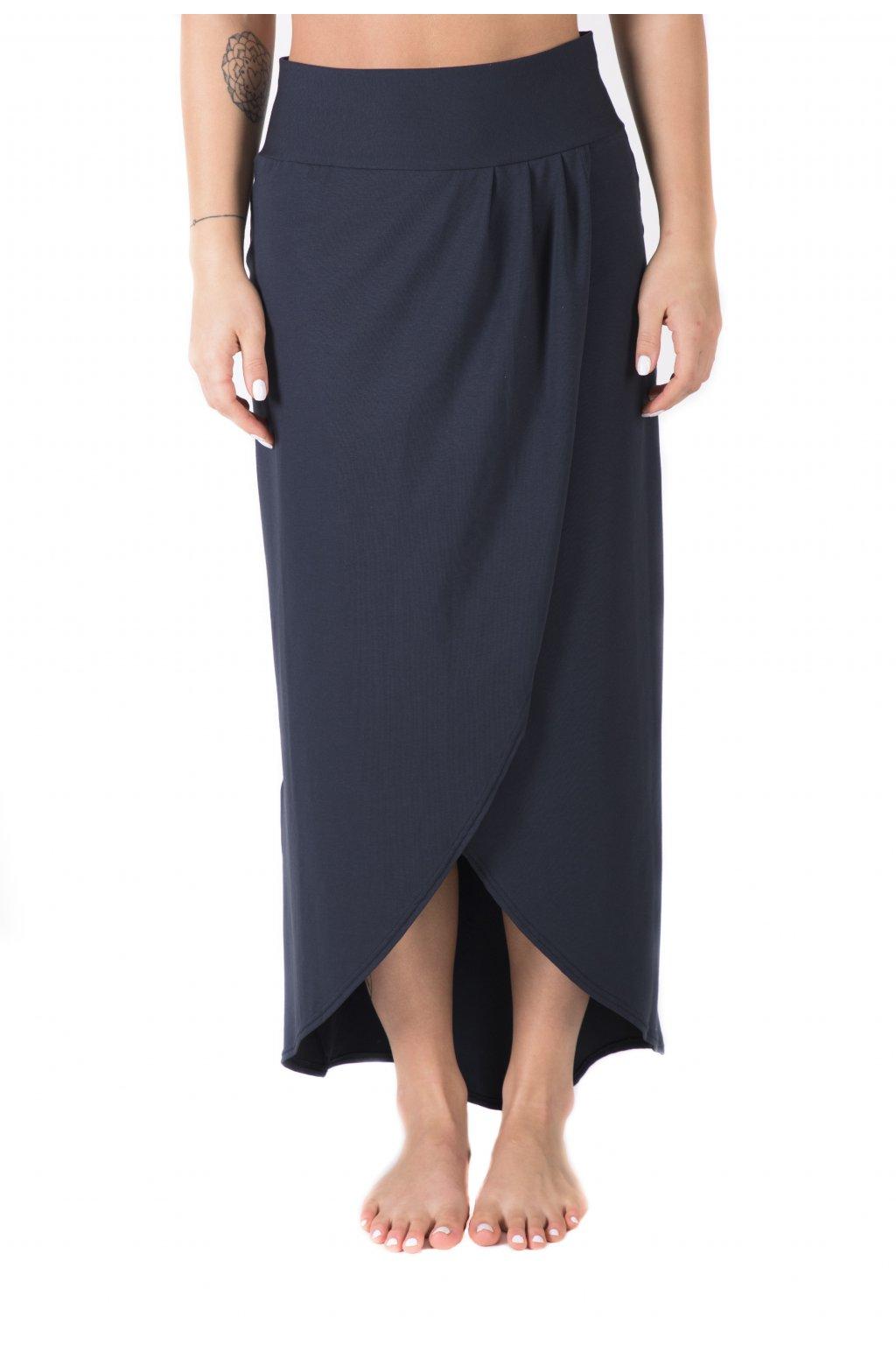 Zavinovací dlouhá sukně Vesna / Navy
