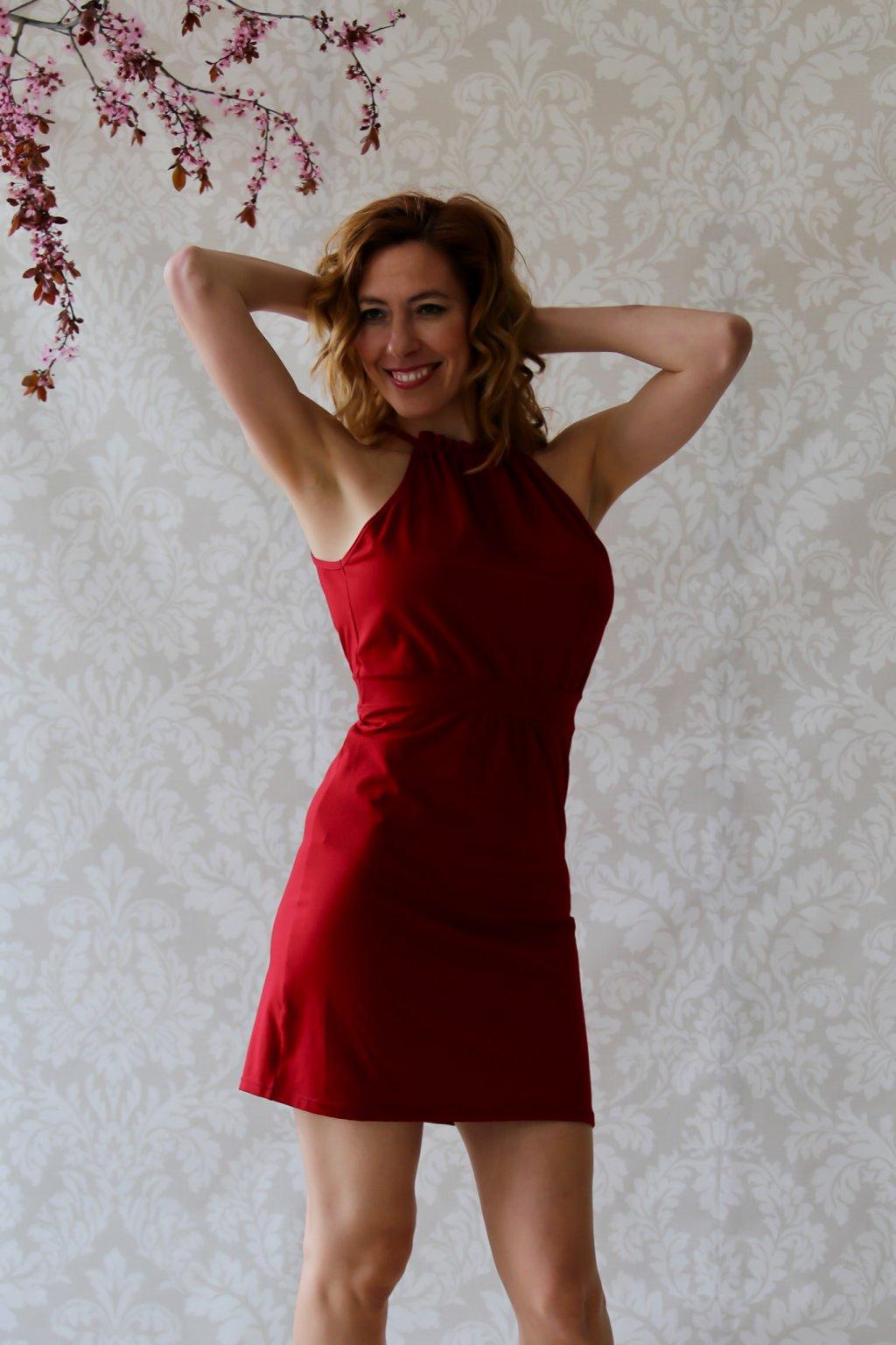 Řasené šaty Sulis / Chilli