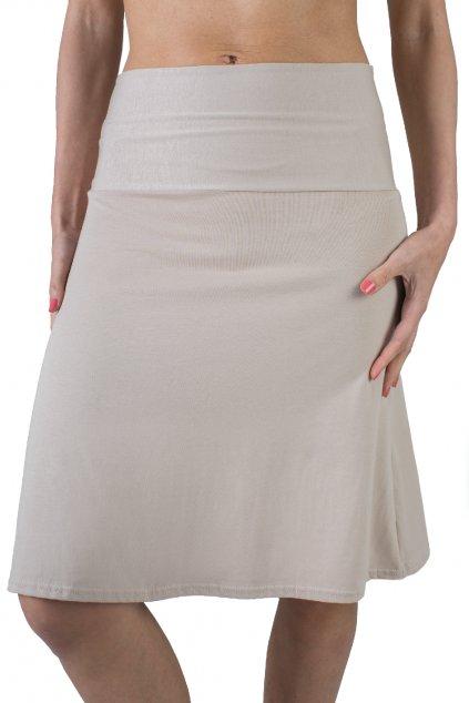 Lehká sukně Aine / Cappuccino