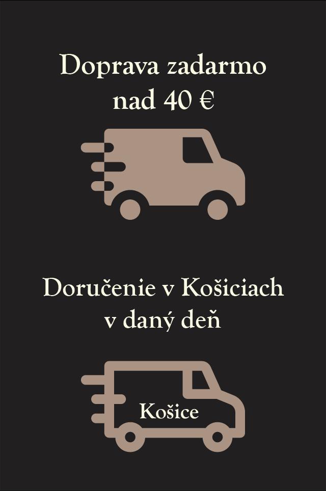 Doprava zadarmo od 40 €