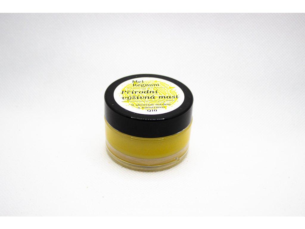 Přírodní výživná mast s olivovým máslem a Q10