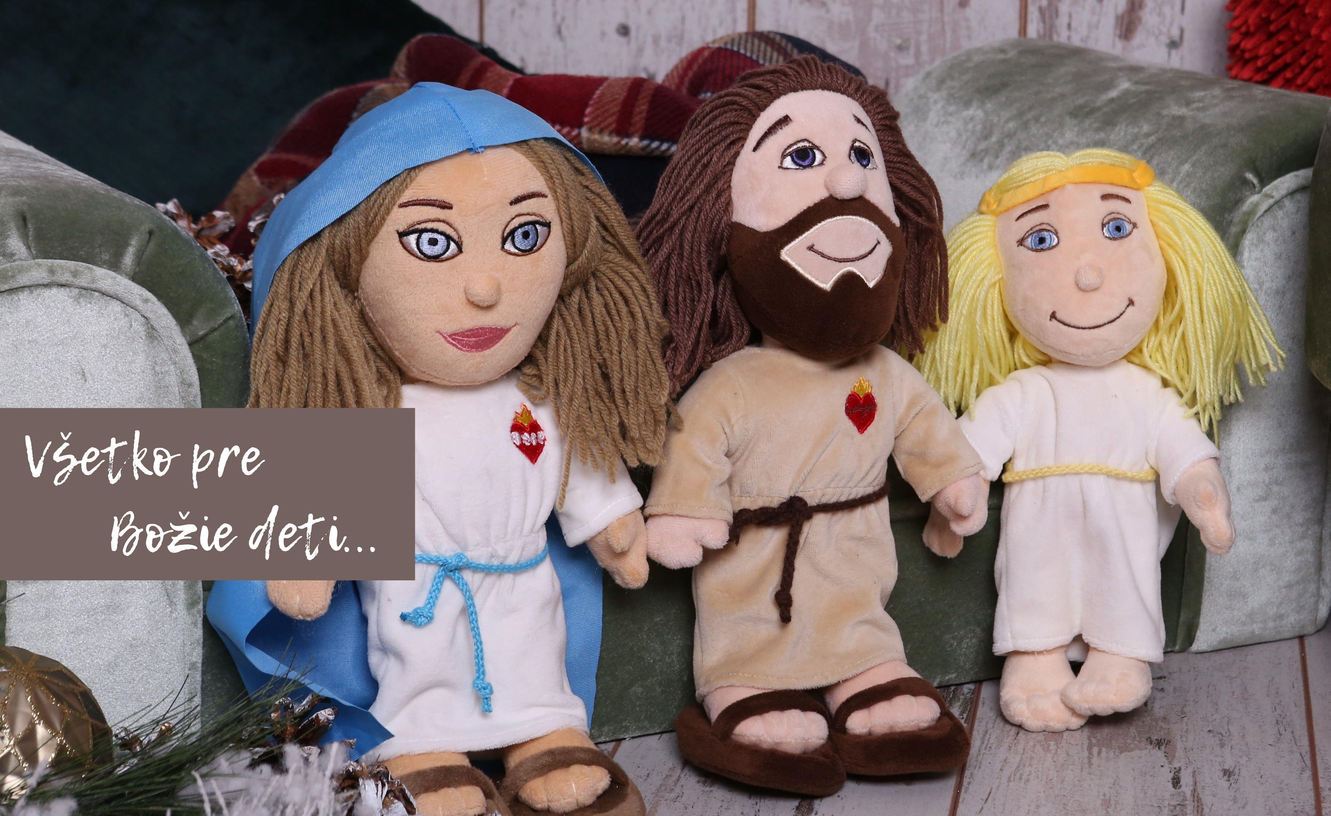 Kresťanské plyšové hračky