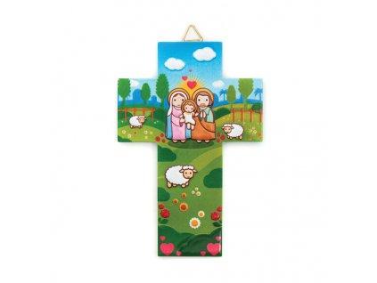 Krížik zo živice