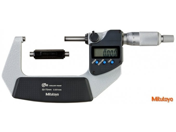 293-242-30 Digitální třmenový mikrometr 50-75/0,001 mm, IP65, DIGIMATIC, Mitutoyo