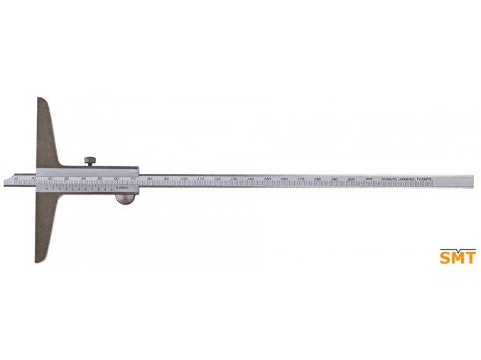 204048  Posuvný hloubkoměr 0-150 mm, se zkosením