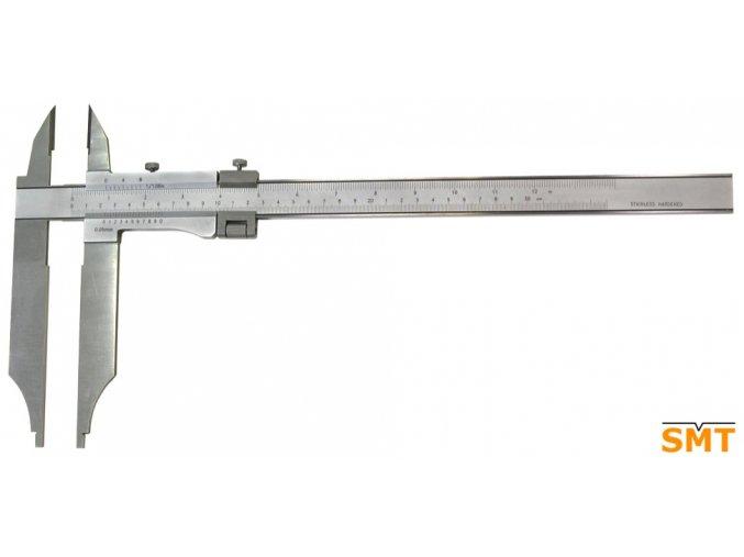 201336  Posuvné měřítko 0-600/0,05 mm, nože pro vnější měření