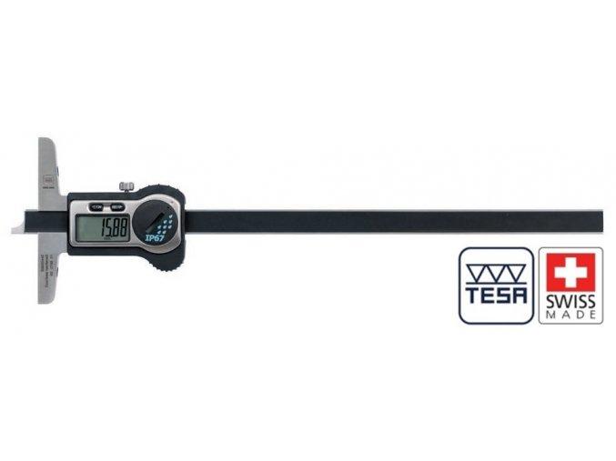 00530443 TESA hloubkoměr 300 mm IP67