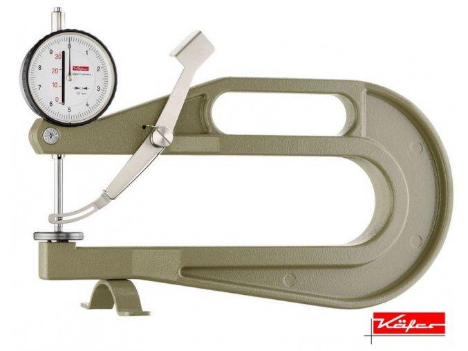 0718108 Tloušťkoměr 0-30/0,1 mm, hl. třmenu 200 mm, doteky dle výběru, Helios-Preisser