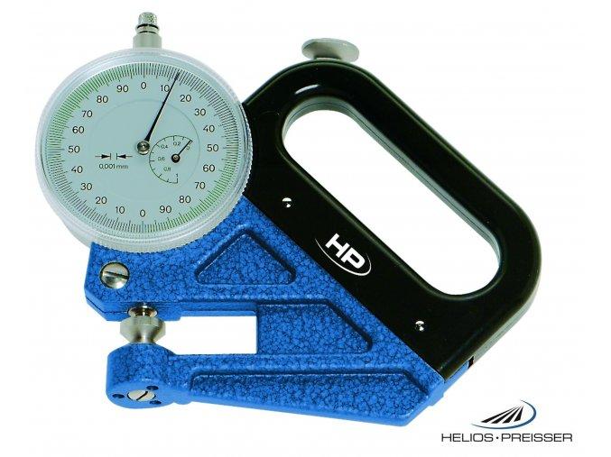 0720103 Tloušťkoměr 0-1/0,001 mm, pro měření tenkých fólii, Helios-Preisser