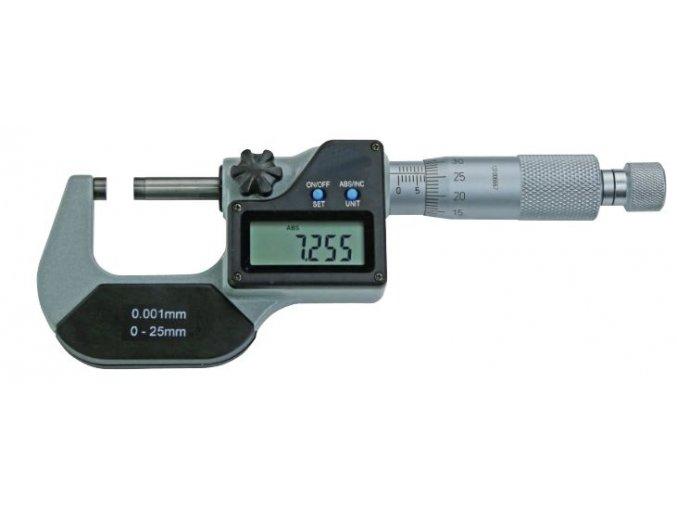 C02254 Digitální mikrometr 0 25 mm