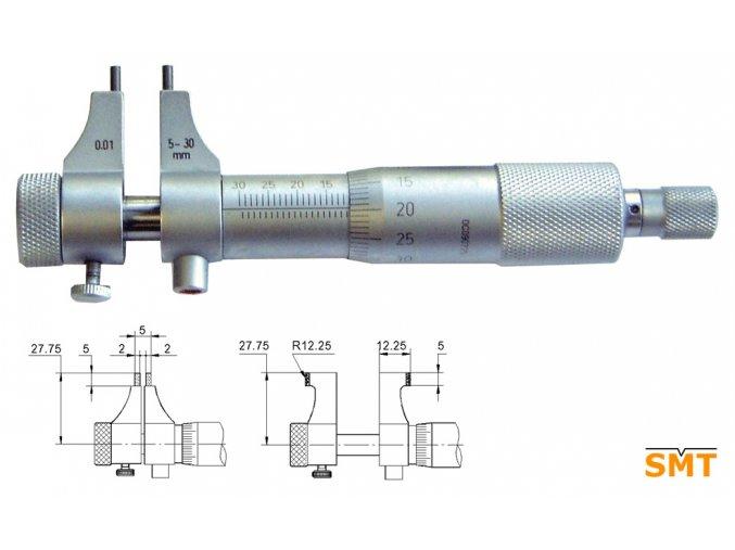 Mikrometrický dutinoměr