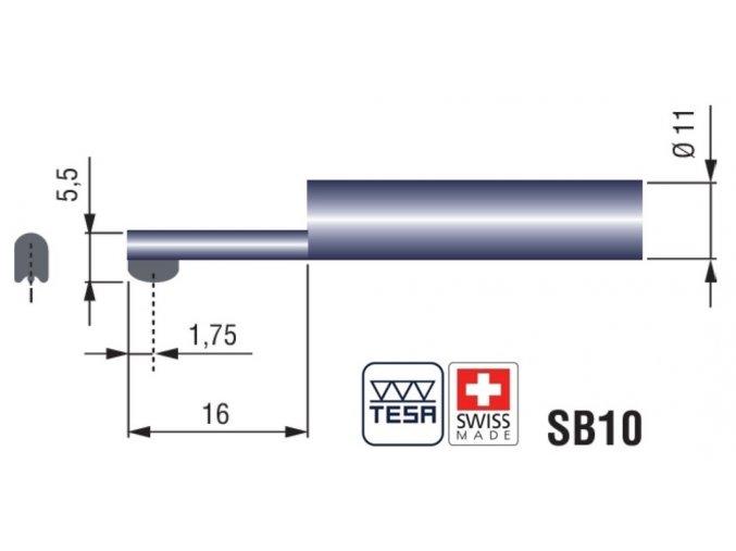 06960036 SB10 TESA Rugosurf