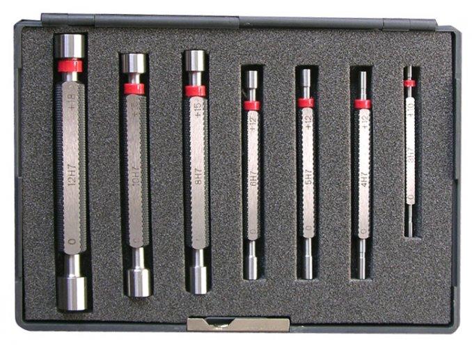 Sada válečkových mezních kalibrů 3 - 12 mm, tolerance H7, DIN 2245
