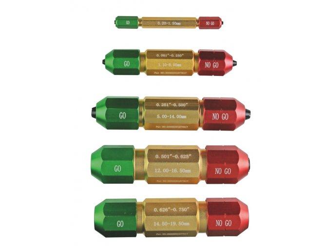 Rukojeti pro válečkové měrky 0,2 - 19,5 mm