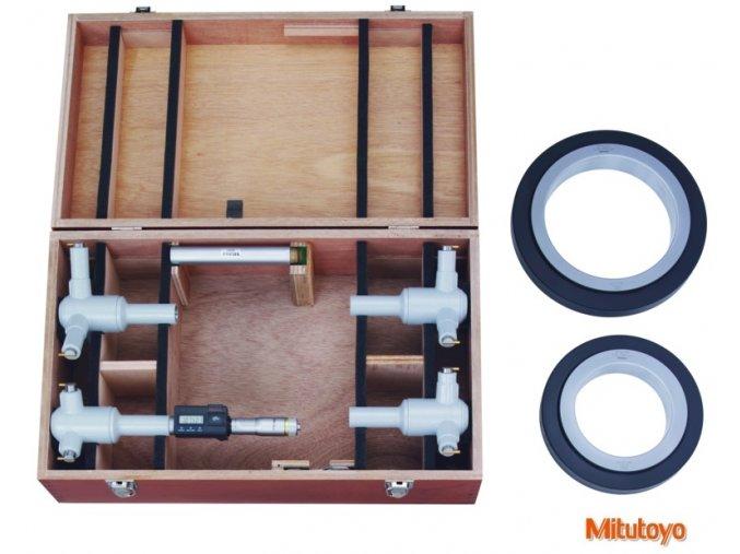468 975 Sada digitálního třídotekového dutinoměru 100 200 mm, Mitutoyo