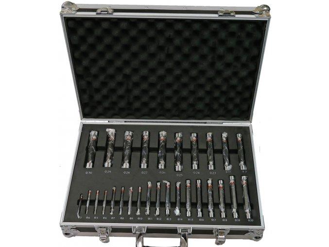 Sada válečkových mezních kalibrů 3 - 30 mm, tolerance H7, DIN 2245