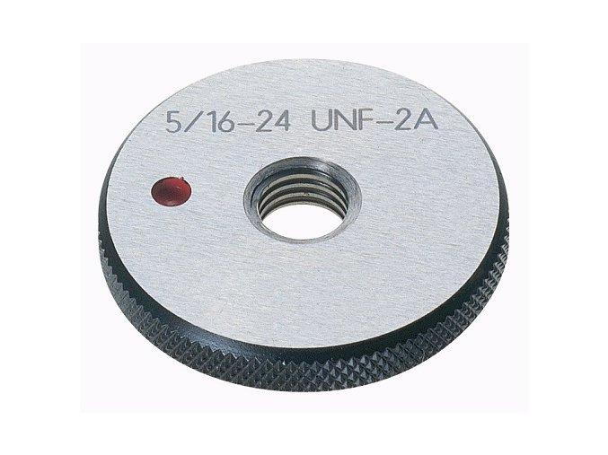 Závitové kroužky UNF - palcové, Zmetkové,  ANSI B 1.1 / BS 919