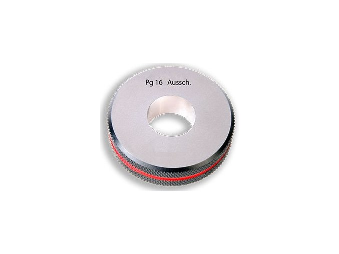 Závitové kroužky Pg - pancéřové, Zmetkové,  DIN 40430