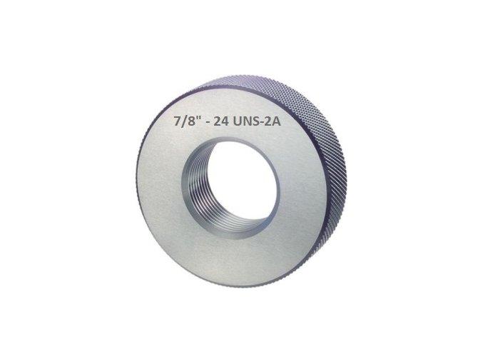 Závitové kroužky UNS - palcové, Dobré, ANSI B 1.2 / BS 919