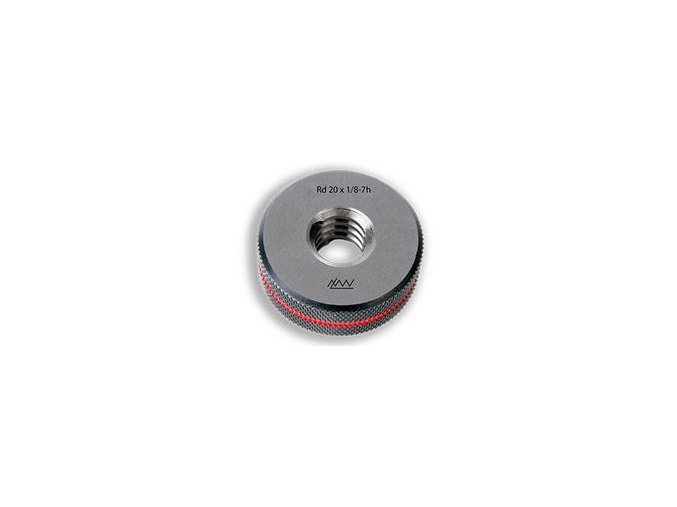 Závitové kroužky Rd - oblý závit, Zmetkové, tolerance 7e, DIN 405