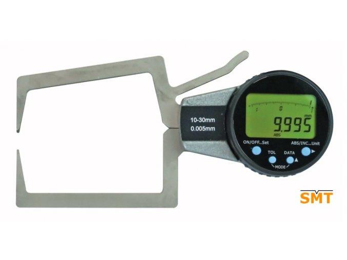 Hmatadlo, digitální tloušťkoměr pro vnější měření
