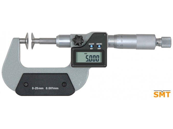 Digitální talířkový mikrometr