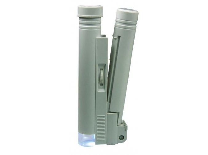 Mikroskop s LED osvětlením
