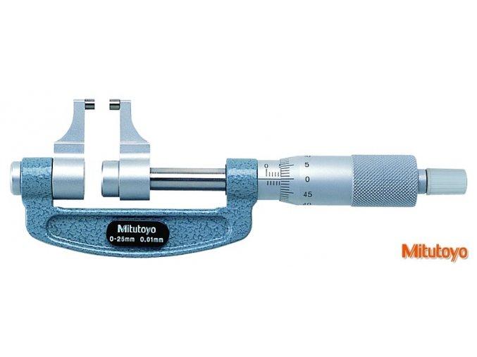 143-101 Mikrometr s měřícími čelistmi Mitutoyo
