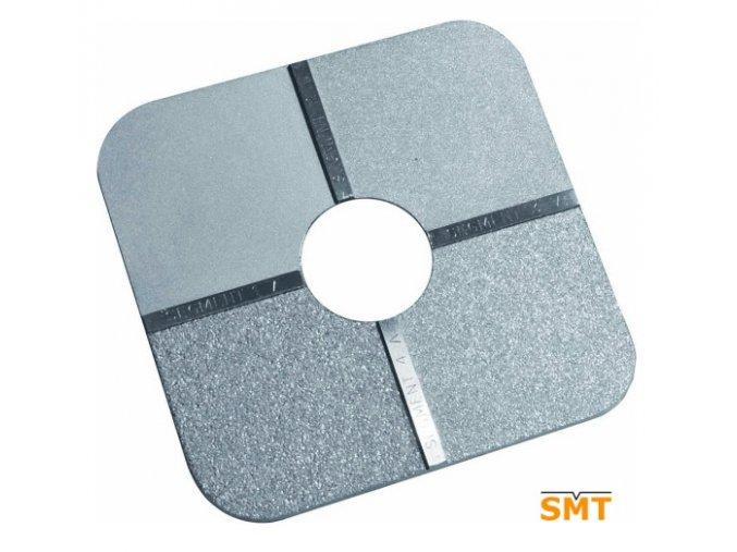 Etalon tryskání pískování ISO 8503 1