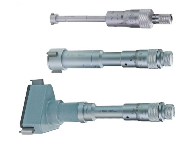 Třídotekové dutinoměry 6 - 100 mm, DIN 863