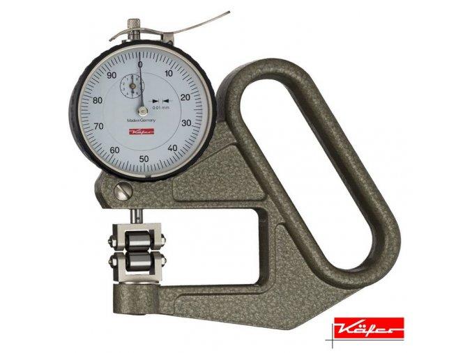 J 50 R Tloušťkoměr pro měření drátů, nití, Käfer