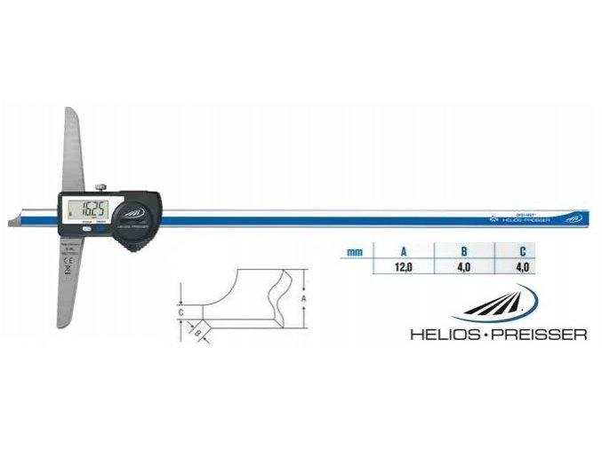 1360716 Digitální posuvný hloubkoměr 0-150 mm
