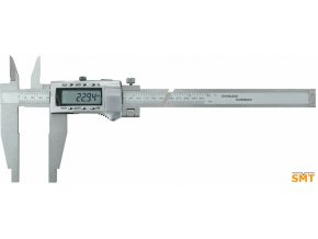 Posuvné měřítko digitální 0-500/0,01 mm, ramena 150 mm, nože pro vnitřní měření, výstup dat