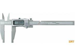 217038  Posuvné měřítko digitální 0-600/0,01 mm, ramena 150 mm, nože pro vnitřní měření, výstup dat