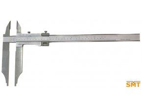 Posuvné měřítko 0-200/0,05 mm, nože pro vnější měření
