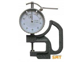 209305 Tloušťkoměr 0-10/0,01 mm, ploché doteky