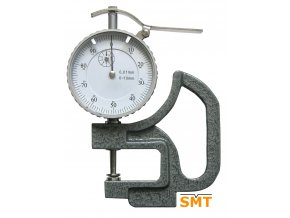 209306 Tloušťkoměr 0-10/0,01 mm, zaoblený dotek