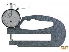 Tloušťkoměr s třmenem 0 - 10 mm