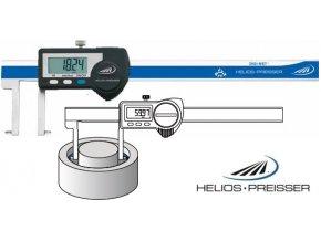 1326906 Posuvné měřítko digitální 20,5 - 170 mm na vnitřní zápichy, IP67, Helios-Preisser