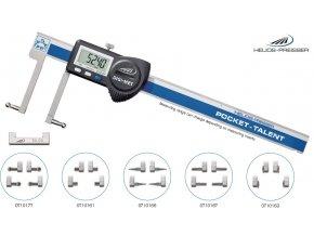1326932 Univerzální posuvné měřítko digitální 0 - 150 mm pro vnitřní a vnější měření, IP67, Helios-Preisser