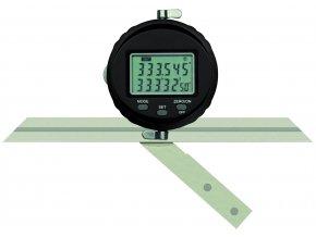 DPU-1-360  Digitální univerzální úhloměr 0-360°,  pravítka 150, 200 a 300 mm