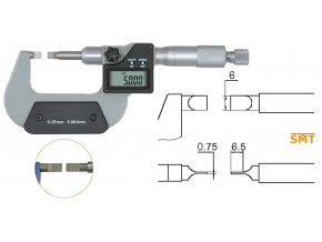 Mikrometr s tenkými doteky